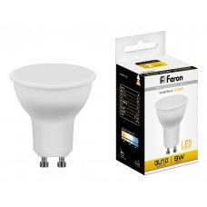 Лампа светодиодная LB-560 GU10 9Вт 220В 2700 K 25842
