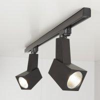 Трековый светодиодный светильник Perfect Черный 38W 3300K (LTB13..