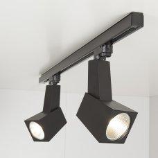 Трековый светодиодный светильник Perfect Черный 38W 3300K (LTB13)