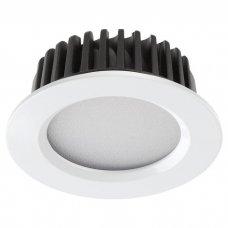 Встраиваемый светодиодный светильник Novotech Drum 357600