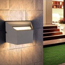 Накладной светильник 1615 Techno LED Ofion Double алмазный серый