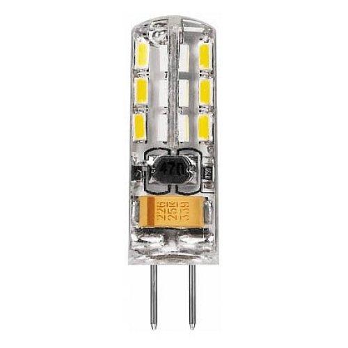 Лампа светодиодная G4 12В 2Вт 4000 K LB-420 25448
