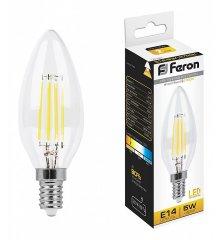 Лампа светодиодная LB-58 E14 5Вт 230В 2700 K 25572