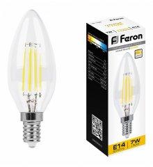 Лампа светодиодная LB-166 E14 7Вт 220В 2700 K 25870