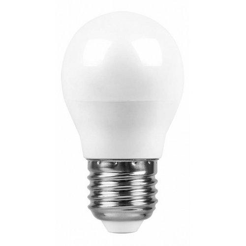 Лампа светодиодная E27 220В 7Вт 4000 K SBG4507 55037