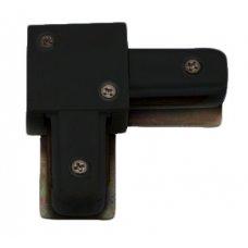 IL.0010.2141 Соединитель «L» двухпроводной шины 220В. Черный