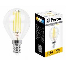 Лампа светодиодная LB-52 E14 7Вт 220В 2700 K 25874