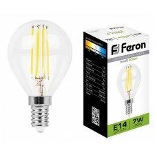 Лампа светодиодная LB-52 E14 7Вт 220В 4000 К 25875