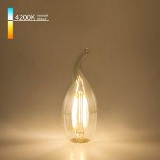 "Филаментная светодиодная лампа ""Свеча на ветру"" C35 9W 4200K E14 BLE1429"