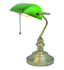 Интерьерная настольная лампа Banker A2492LT-1AB