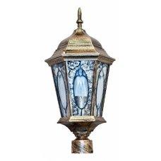 Наземный низкий светильник Витраж с овалом 11329