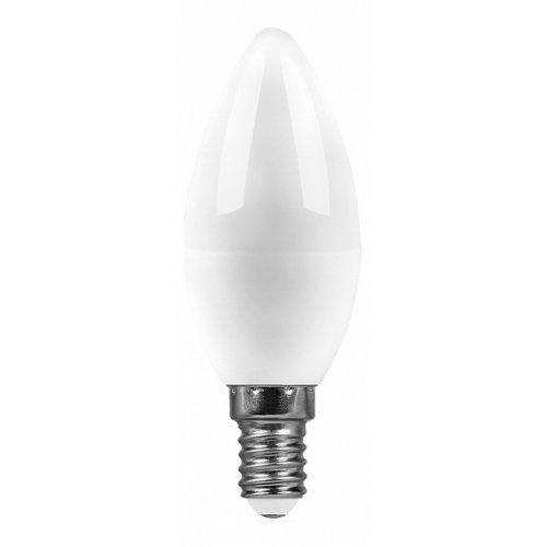 Лампа светодиодная E14 220В 9Вт 2700 K SBC3709 55078