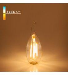 "Филаментная светодиодная лампа ""Свеча на ветру"" C35 9W 3300K E14 BLE1428"