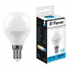 Лампа светодиодная LB-550 E14 9Вт 220В 4000 К 25803