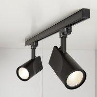 Трековый светодиодный светильник Vista Черный 32W 4200K (LTB16)