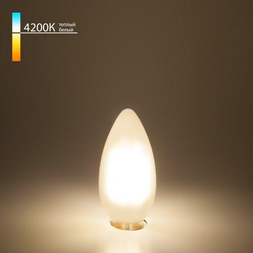 "Филаментная светодиодная лампа ""Свеча"" C35 9W 4200K E14 BLE1427"