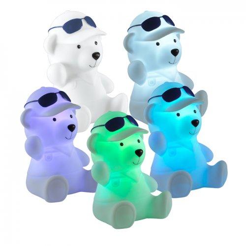 Детский настольный светильник-ночник (с выключателем) с эффектом плавной смены цвета NOVOTECH 357339