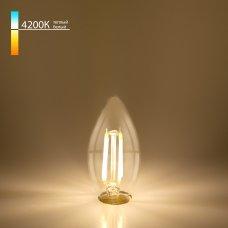 "Филаментная светодиодная лампа ""Свеча"" C35 9W 4200K E14 BLE1426"
