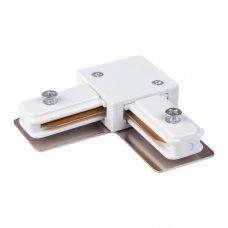 Коннектор угловой для однофазного шинопровода TRC-1-1-L-WH белый