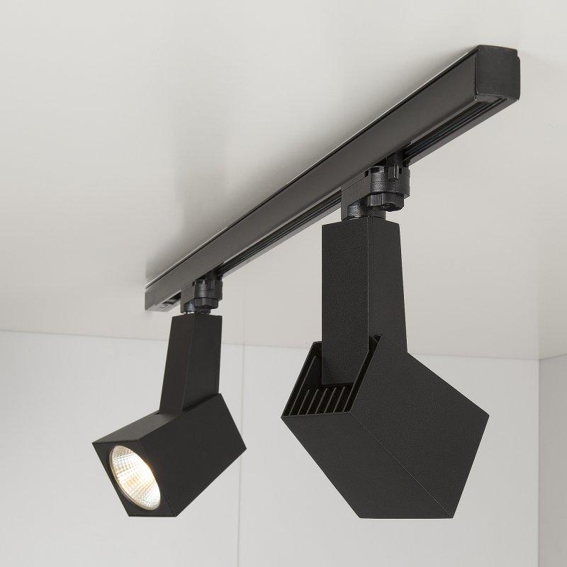 Трековый светодиодный светильник Perfect Черный 38W 4200K (LTB14)